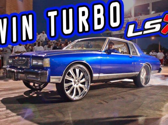 TWIN TURBO LSX Box Chevy takes down a Vette! – Memphis, TN ...